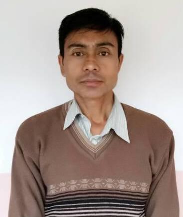 Mr. Meghachandra Sharma (Class VII Class Teacher)