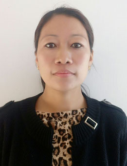 Ms. Apeno Khale ( Class VIII Class Teacher)